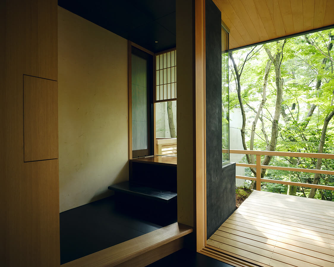 白緑の書斎