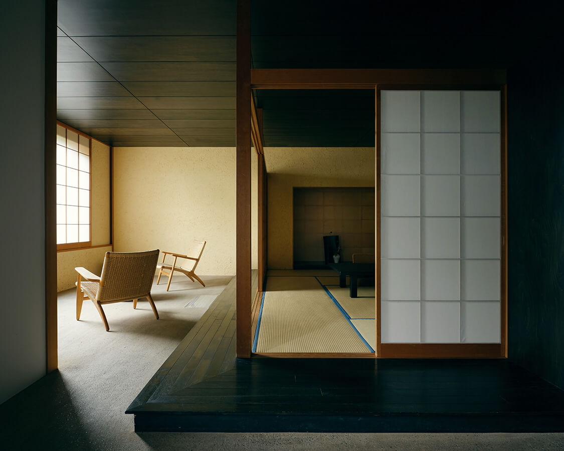 和洋室の居間